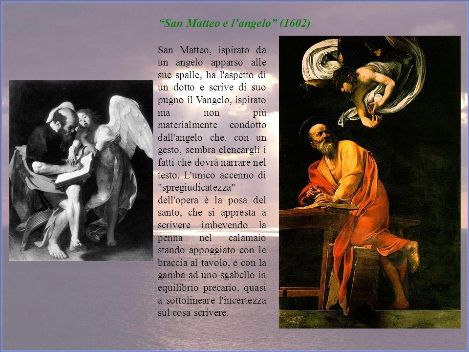 San Matteo e l'angelo (1602)