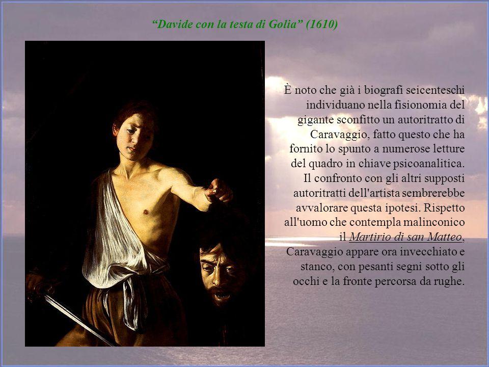 Davide con la testa di Golia (1610)