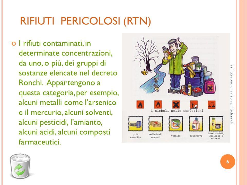 RIFIUTI PERICOLOSI (RTN)