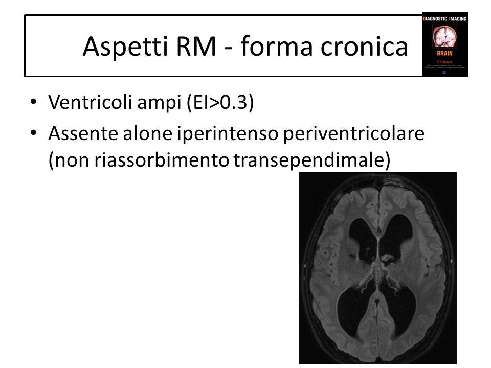 Aspetti RM - forma cronica