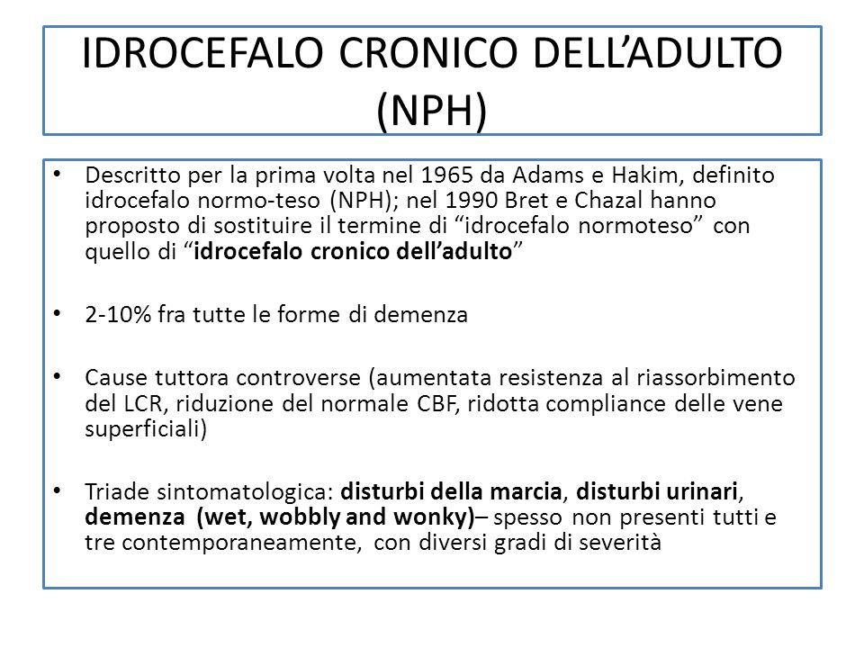 IDROCEFALO CRONICO DELL'ADULTO (NPH)