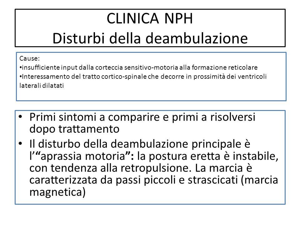 CLINICA NPH Disturbi della deambulazione