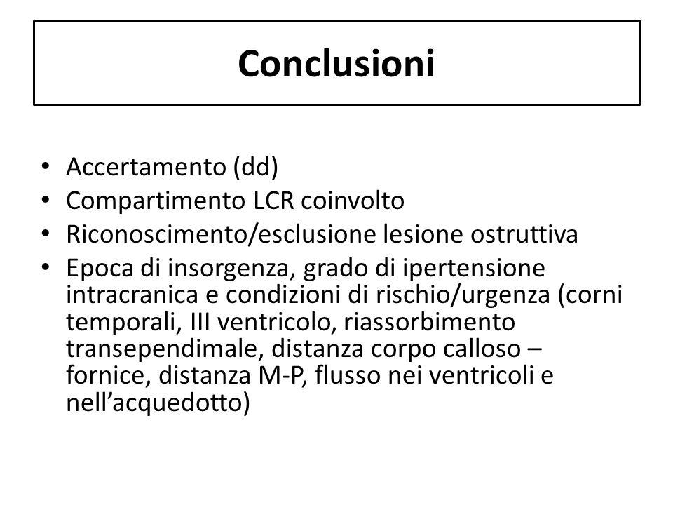 Conclusioni Accertamento (dd) Compartimento LCR coinvolto