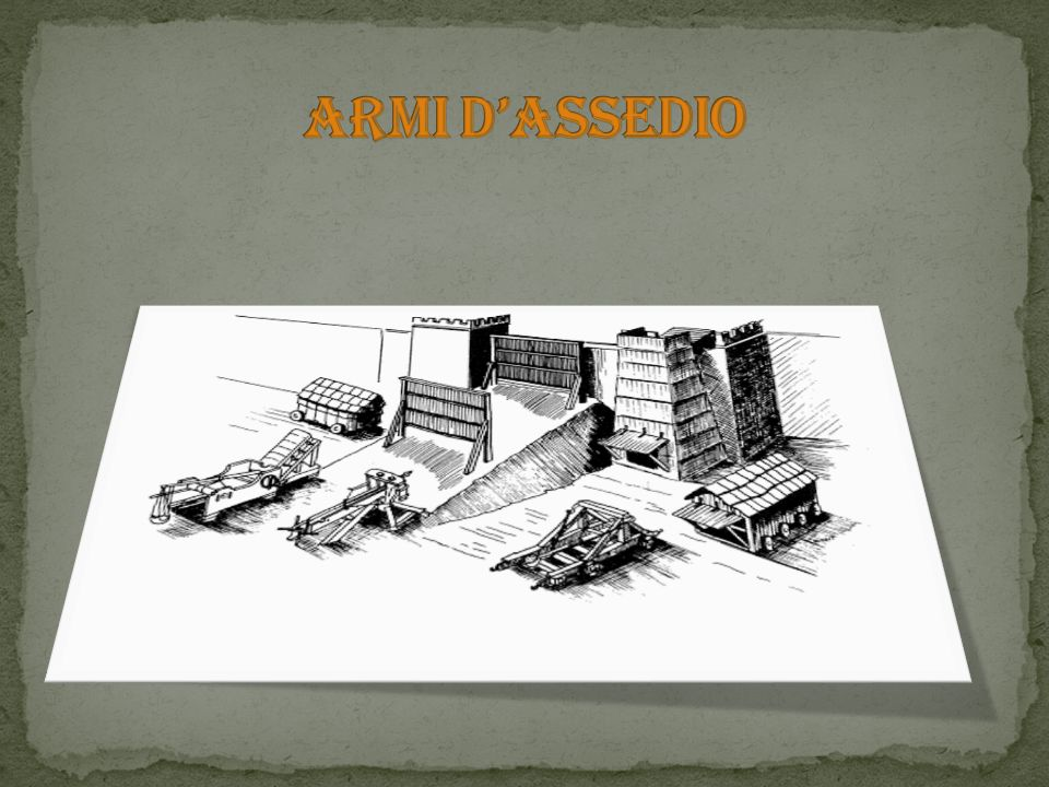 ARMI D'ASSEDIO