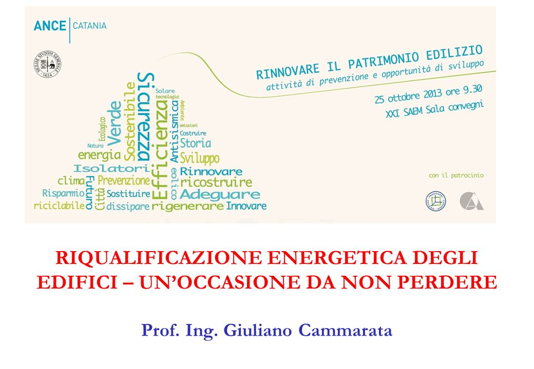 Prof. Ing. Giuliano Cammarata