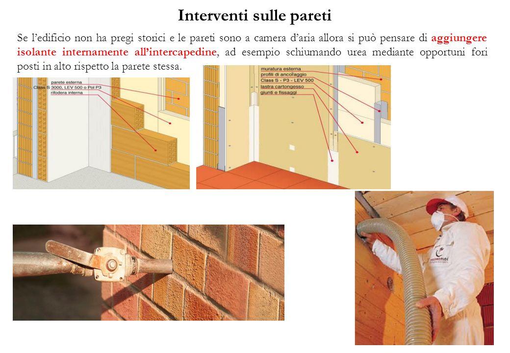 Interventi sulle pareti