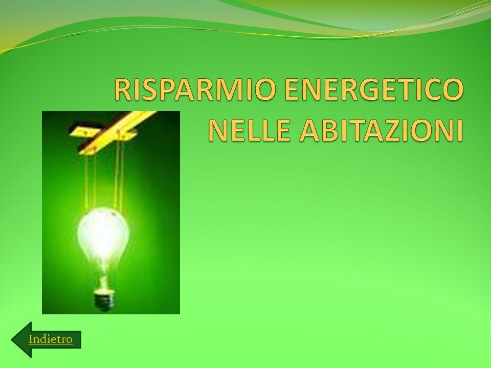 RISPARMIO ENERGETICO NELLE ABITAZIONI