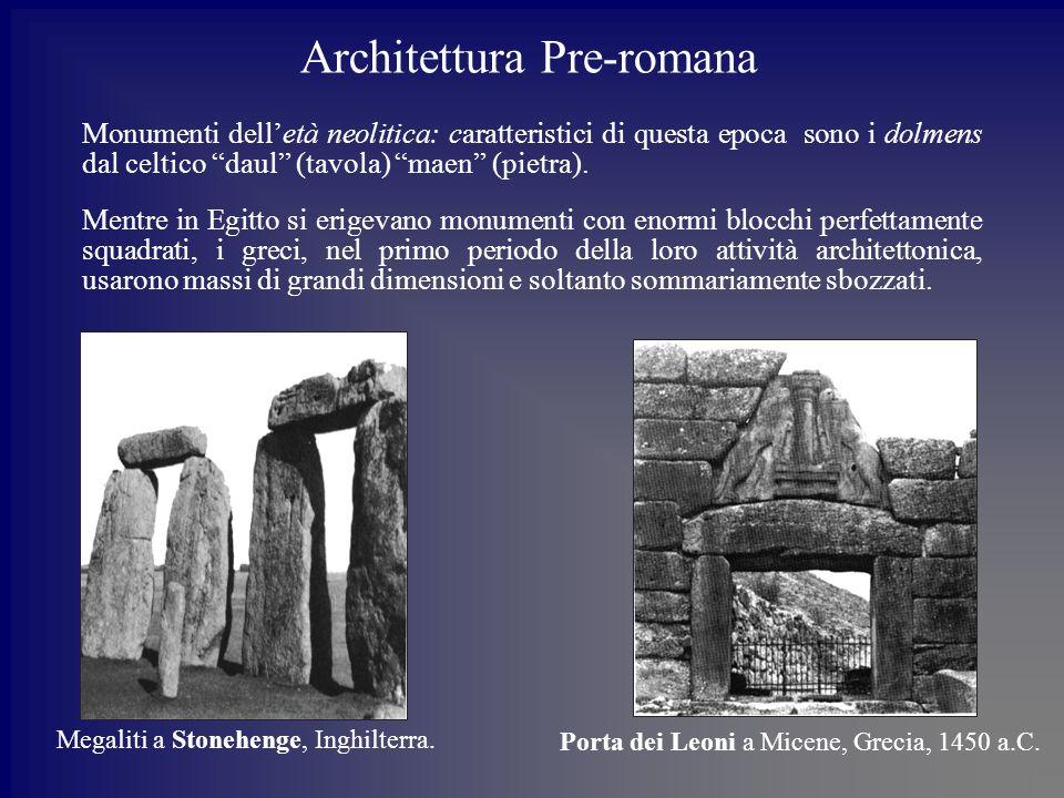 Architettura Pre-romana
