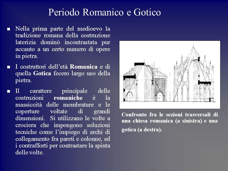 Periodo Romanico e Gotico