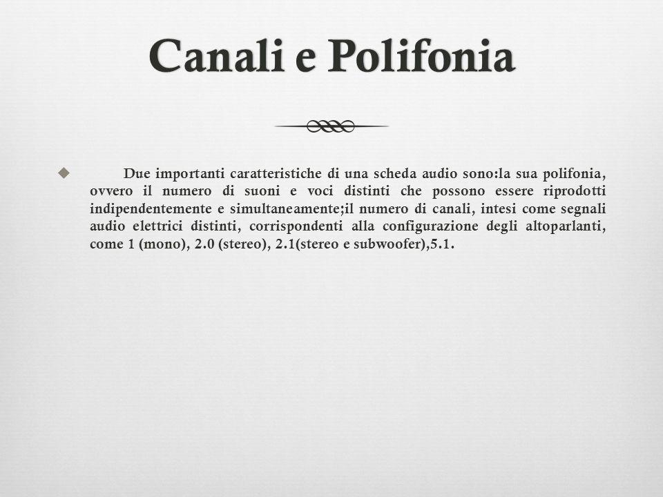 Canali e Polifonia
