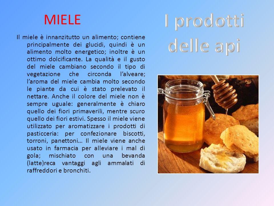 I prodotti delle api MIELE