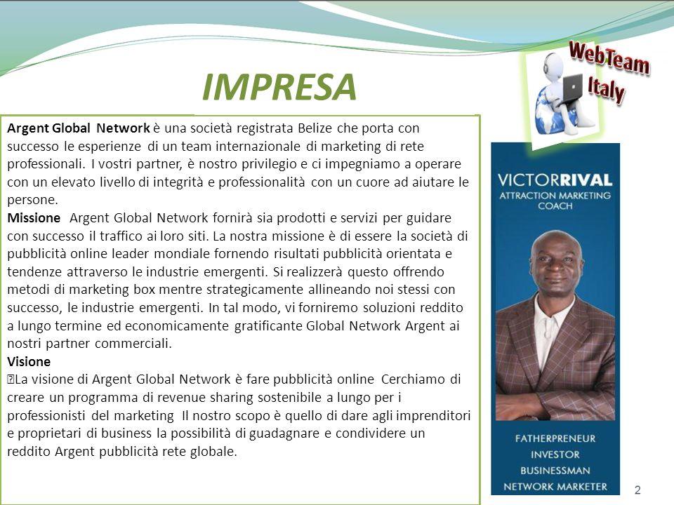 WebTeam Italy. IMPRESA.
