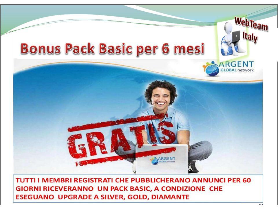 WebTeam Italy Realizza i tuoi sogni Bonus Pack Basic per 6 mesi