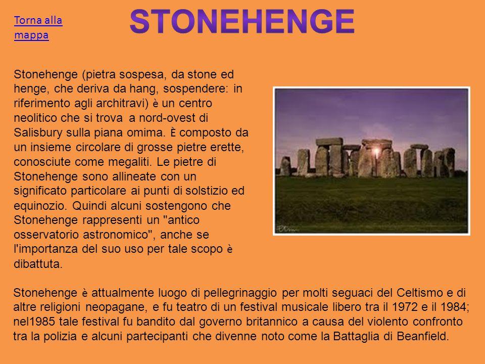 Stonehenge Torna alla mappa