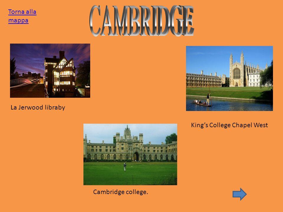 CAMBRIDGE Torna alla mappa La Jerwood libraby