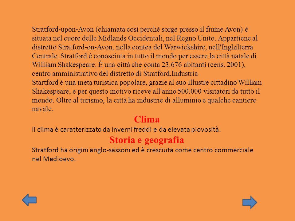 Clima Storia e geografia