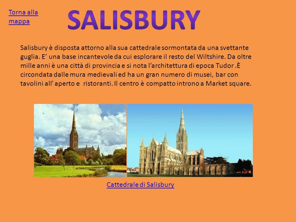 Salisbury Torna alla mappa
