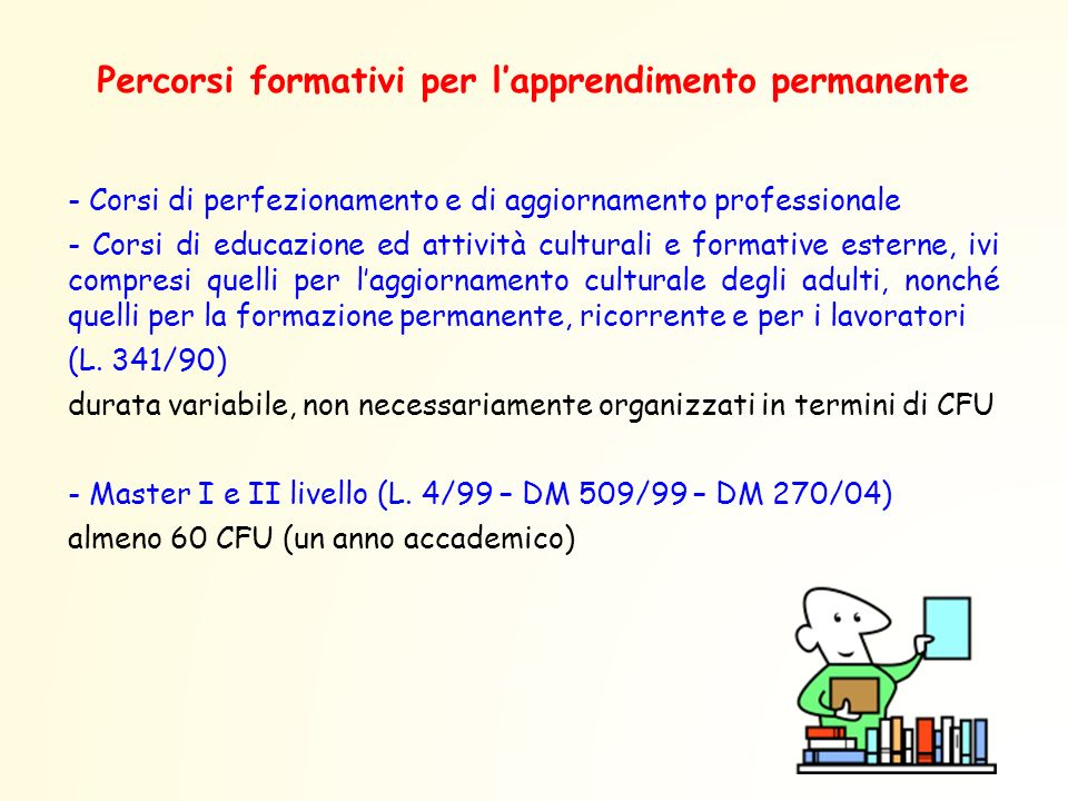 Percorsi formativi per l'apprendimento permanente
