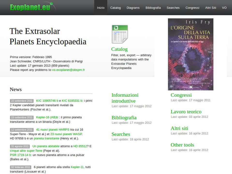 Bibliografia Wikipedia (inglese!)