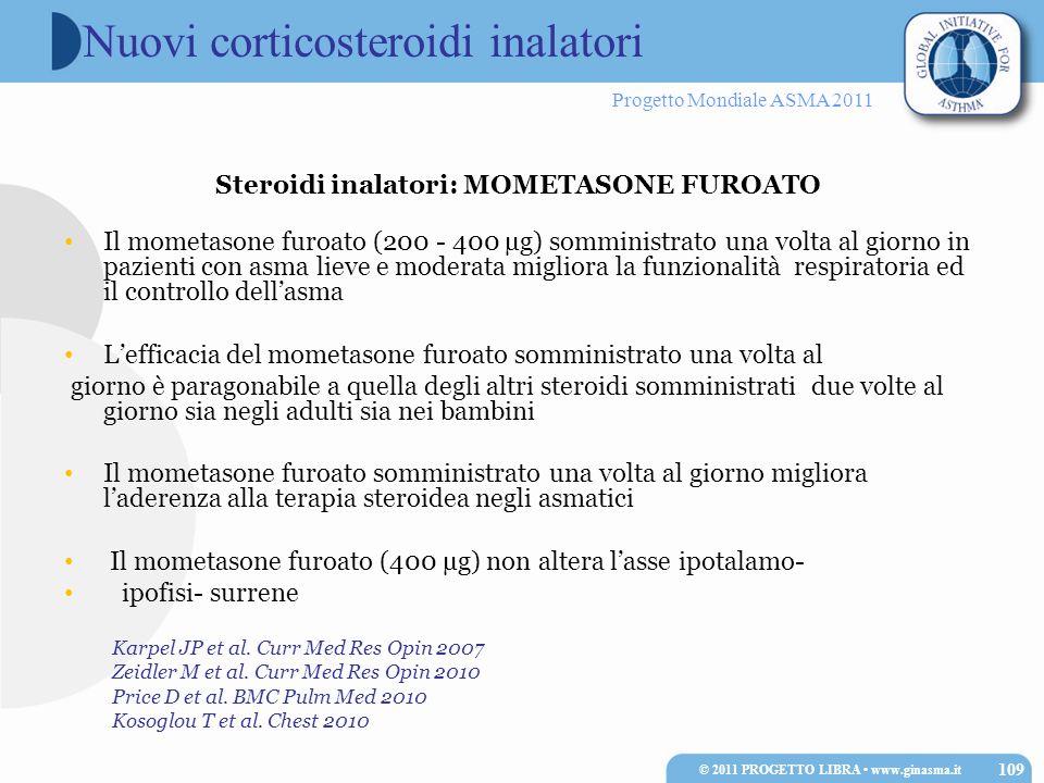 Nuovi corticosteroidi inalatori