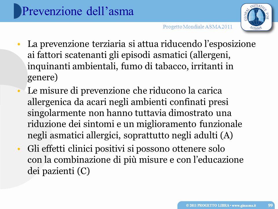 Prevenzione dell'asma