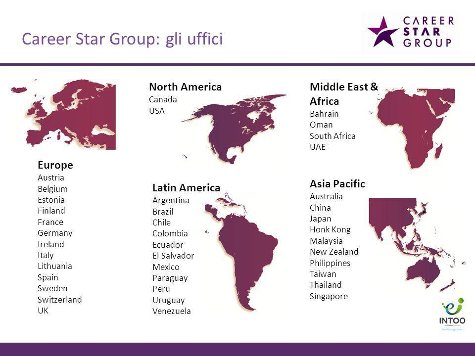 Career Star Group: gli uffici