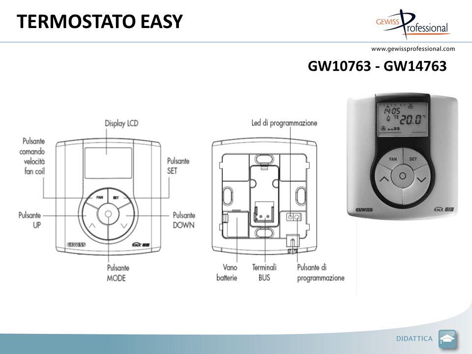 TERMOSTATO EASY GW10763 - GW14763