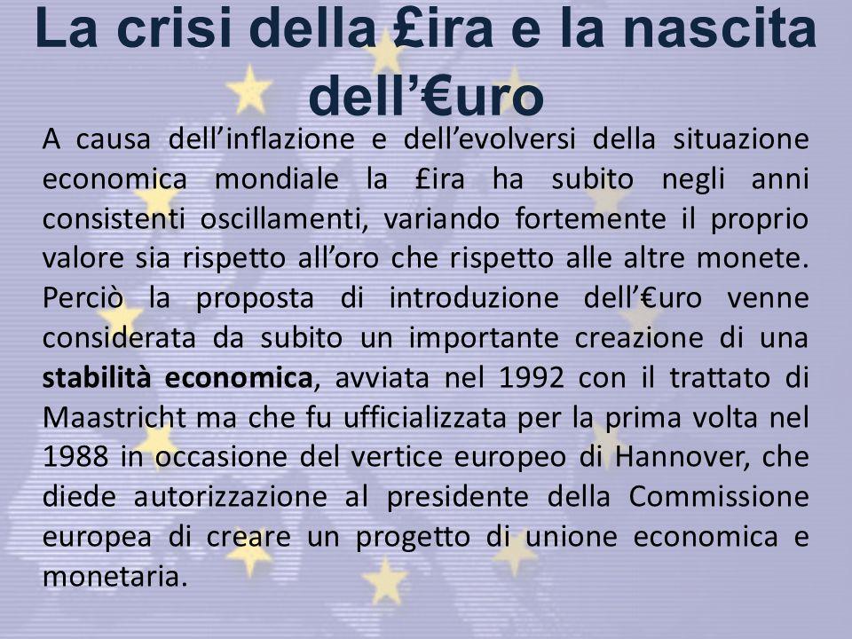 La crisi della £ira e la nascita dell'€uro