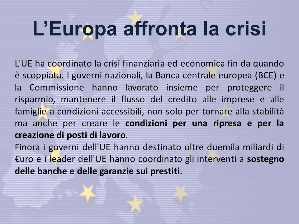L'Europa affronta la crisi