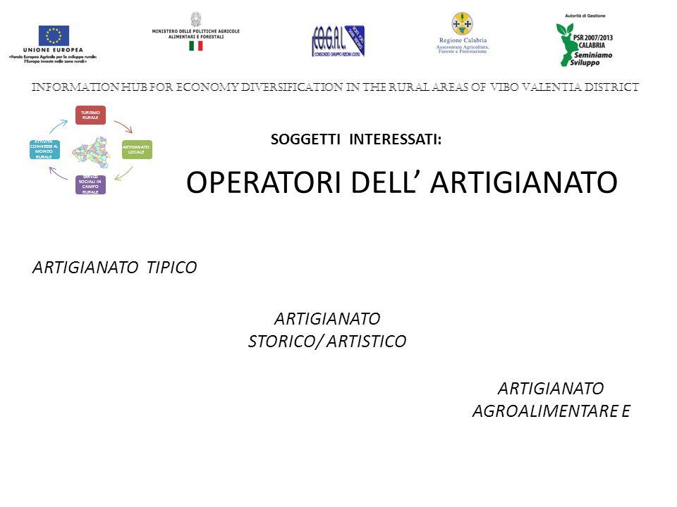 OPERATORI DELL' ARTIGIANATO