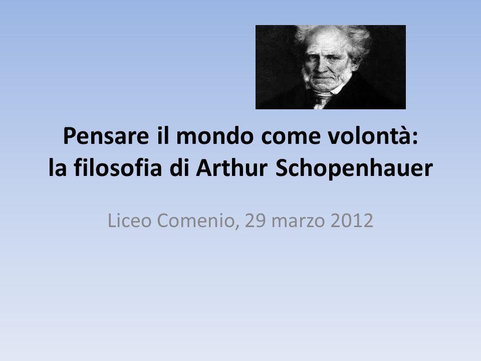 Pensare il mondo come volontà: la filosofia di Arthur Schopenhauer