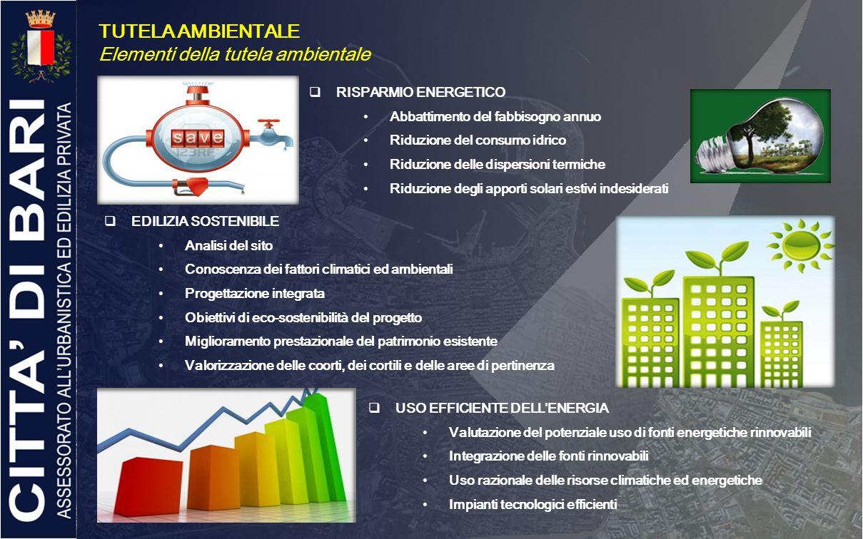Elementi della tutela ambientale