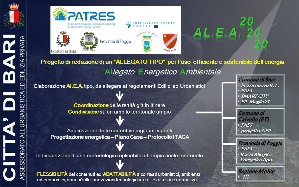Progettazione energetica – Piano Casa – Protocollo ITACA