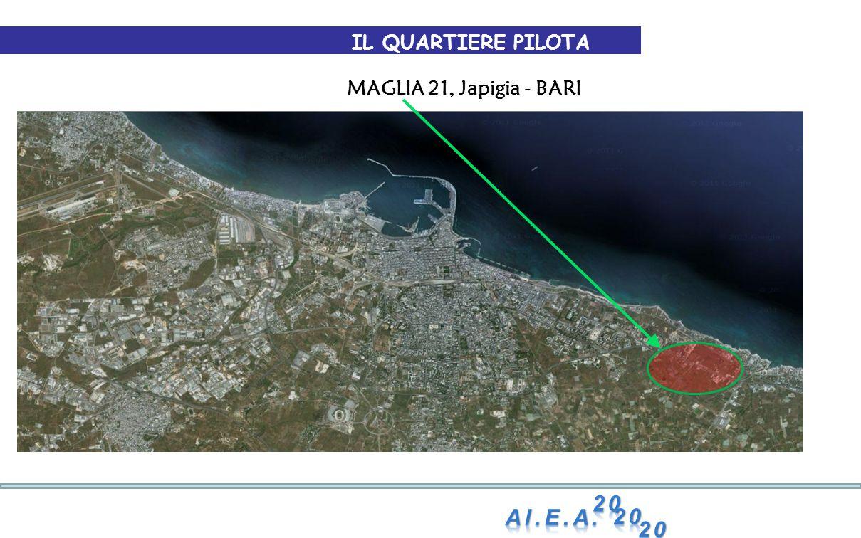 IL QUARTIERE PILOTA MAGLIA 21, Japigia - BARI Al.E.A. 20