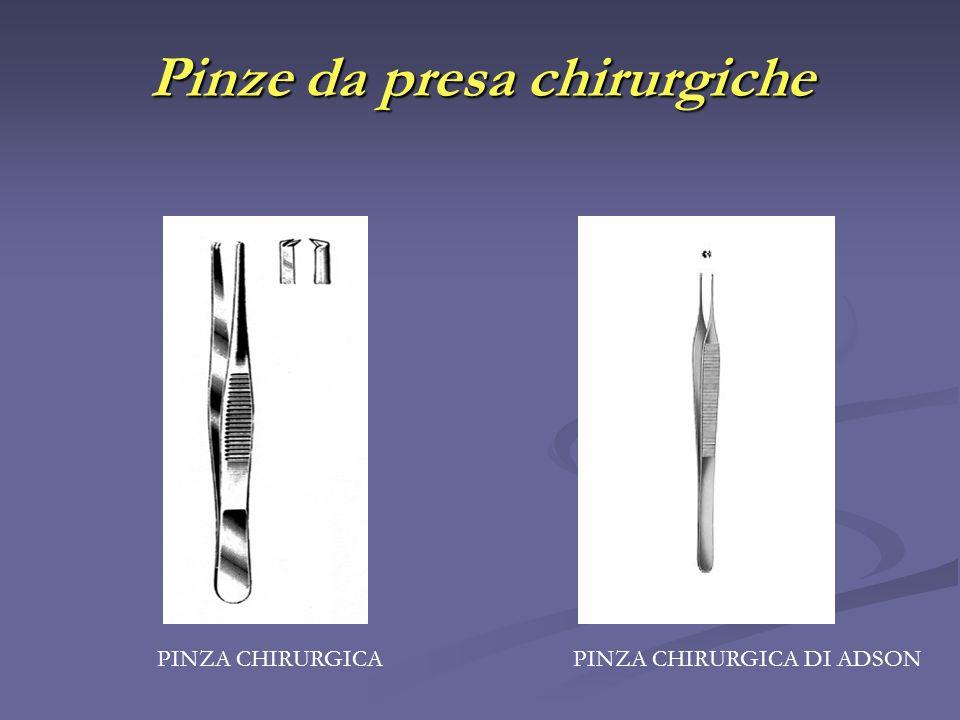 Pinze da presa chirurgiche