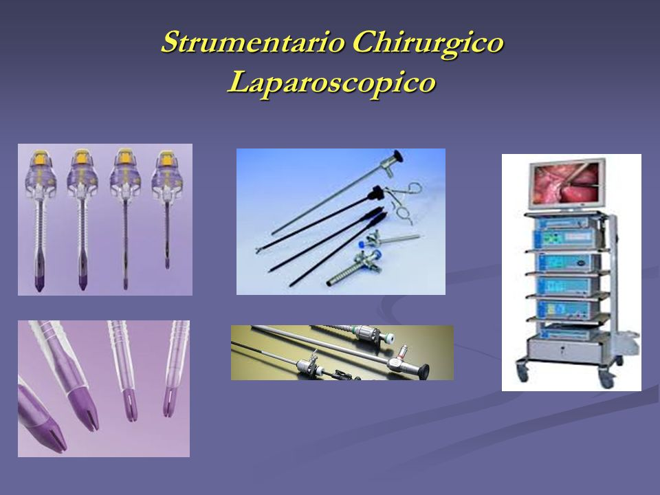 Strumentario Chirurgico Laparoscopico