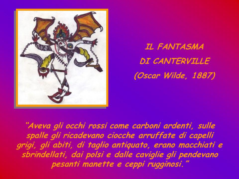 IL FANTASMA DI CANTERVILLE. (Oscar Wilde, 1887)