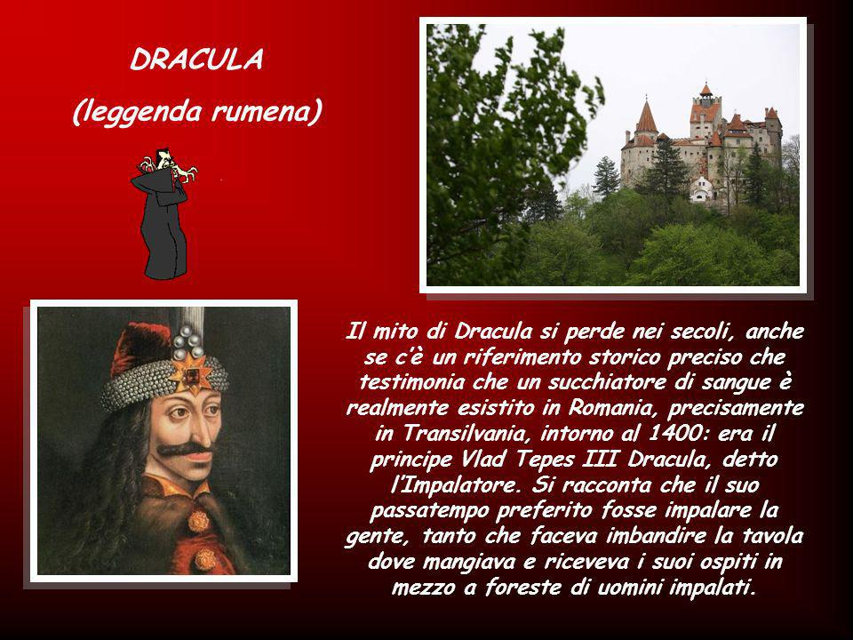 DRACULA (leggenda rumena)
