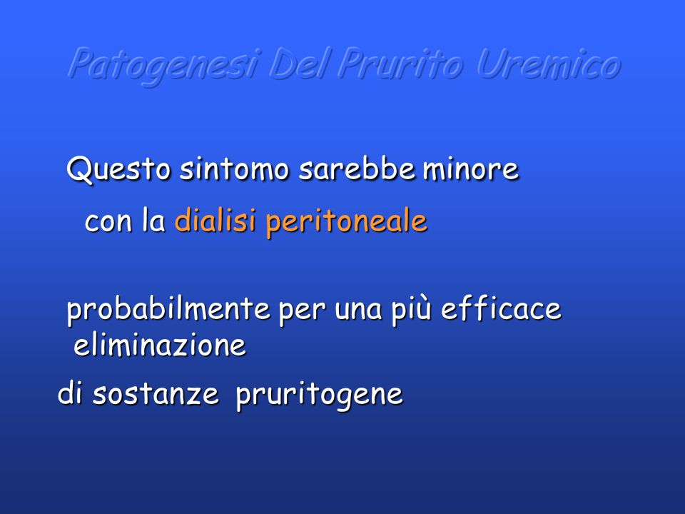 Patogenesi Del Prurito Uremico