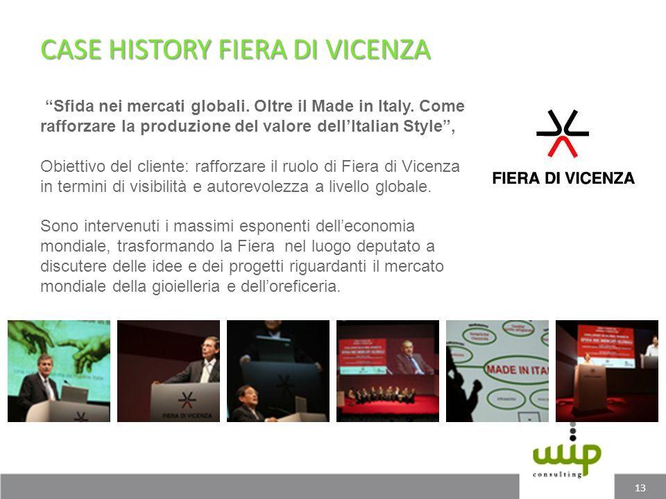 CASE HISTORY FIERA DI VICENZA