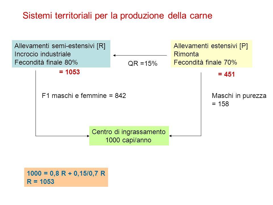 Sistemi territoriali per la produzione della carne