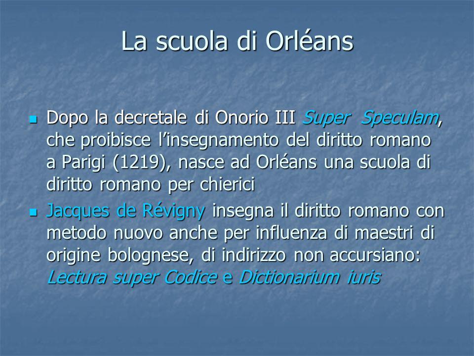 La scuola di Orléans