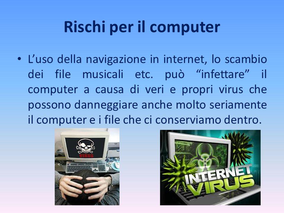 Rischi per il computer