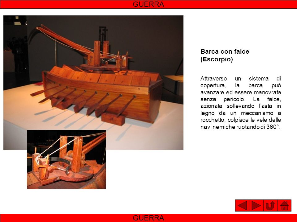 GUERRA GUERRA Barca con falce (Escorpio)