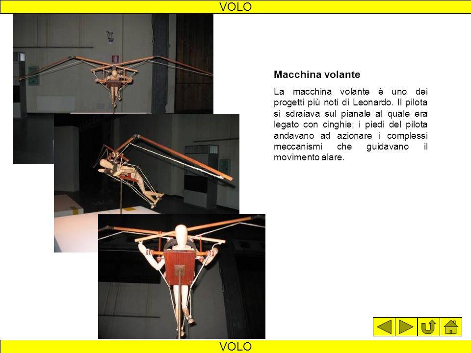 VOLO VOLO Macchina volante