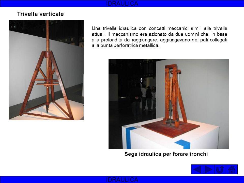 IDRAULICA Trivella verticale IDRAULICA