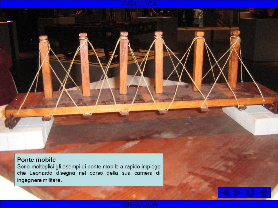 IDRAULICA IDRAULICA Ponte mobile