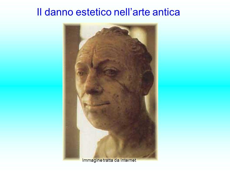 Il danno estetico nell'arte antica