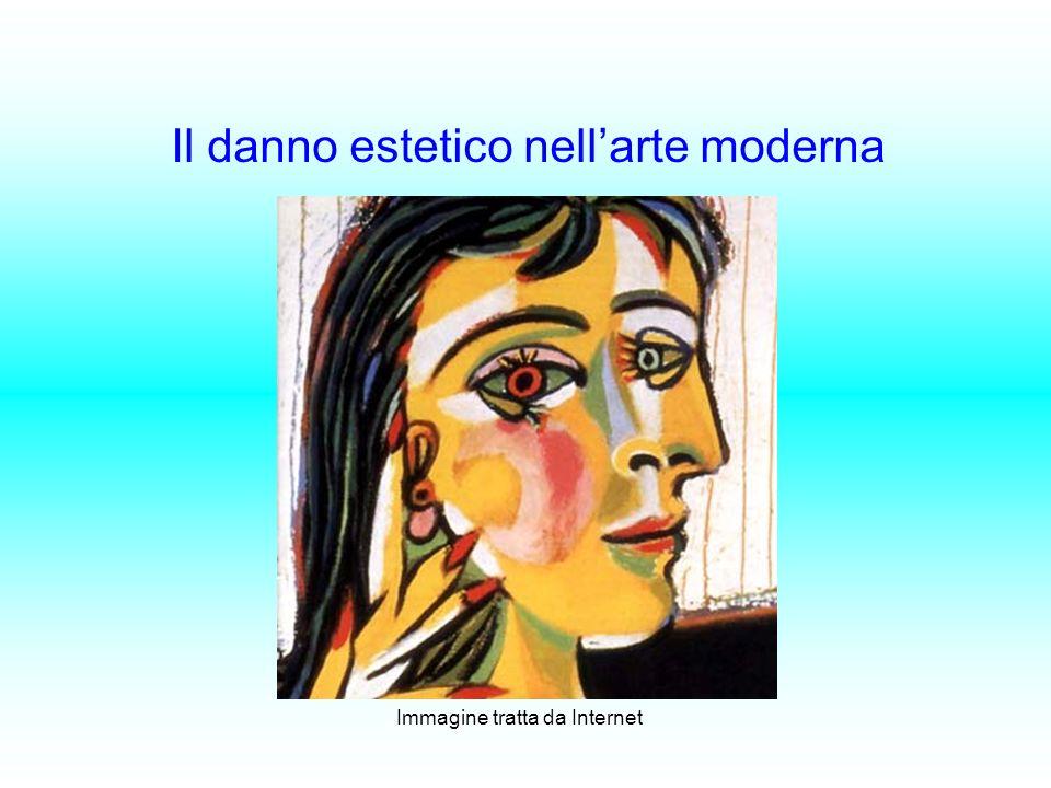 Il danno estetico nell'arte moderna
