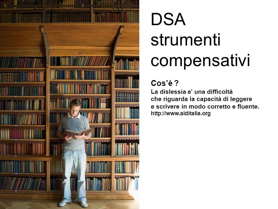 DSA strumenti compensativi
